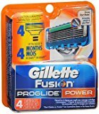 Gillette Fusion ProGlide Cartridges Power - 4 Ct., Pack of 2