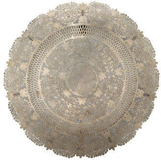Pottery Barn Isabella Antiqued Disc Wall Art