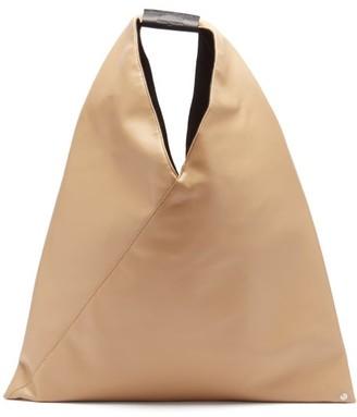 MM6 MAISON MARGIELA Faux-leather Shoulder Bag - Camel