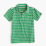 J.Crew Boys' polo shirt in lined stripe