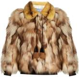 Prada Patchwork fur jacket