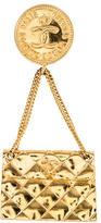 Chanel CC Flap Bag Brooch