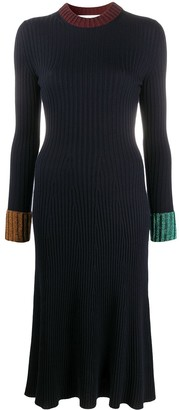 Lanvin Ribbed Jumper Dress