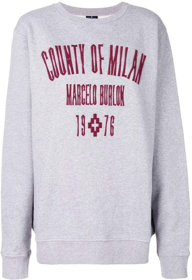 Marcelo Burlon County of Milan Kura Crewneck