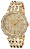 Michael Kors MK3398 Gold tone Stainless Steel 39mm Womens Watch