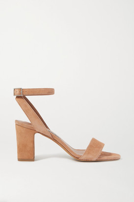 Tabitha Simmons Leticia Suede Sandals - Tan