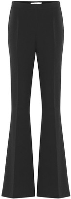 Safiyaa Halluana high-rise flared pants