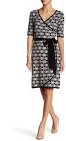 Taylor Belted Knit Wrap Dress