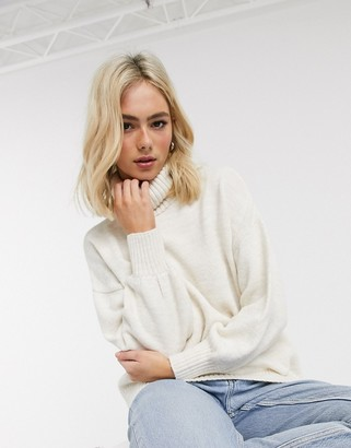 Asos DESIGN cowl neck oversized sweater