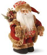 National Tree Company Stylish Musical Santa Christmas Figurine