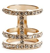 GUESS Taylor Double-Cross Ring