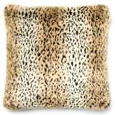 Loloi LoloiTM Leopard Print 22-Inch Down Pillow in Tan/Black