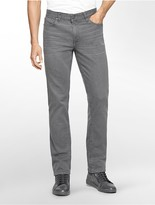 Calvin Klein Slim Straight Leg Grey Wash Jeans