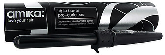 Amika Triple Barrel Interchangeable Pro-Curler Set