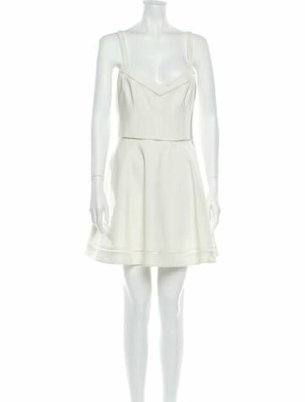 Elizabeth and James V-Neck Mini Dress