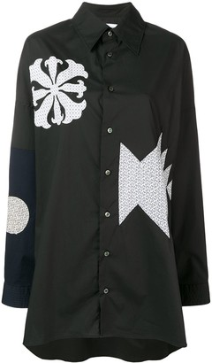 Ambush Patchwork Oversized Shirt