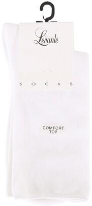 Levante Comfort Top Sock COMTSO White White 2-8