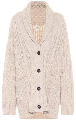 Etoile Isabel Marant Regan cable-knit wool cardigan