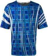 Issey Miyake printed T-shirt - men - Cotton/Polyester - 3