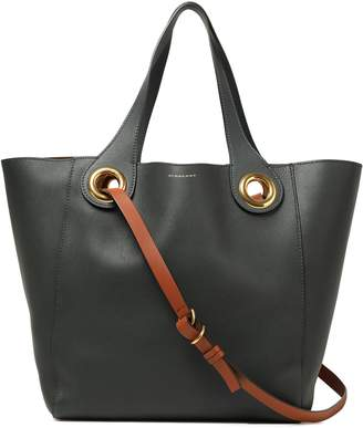 Burberry Embellished Leather Tote