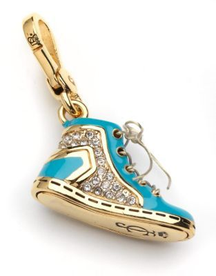 Juicy Couture Pave Sneaker Charm