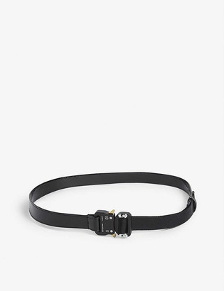 Alyx Patent leather rollercoaster buckle belt
