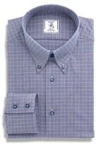 Maker & Company Men's Regular Fit Plaid Dress Shirt