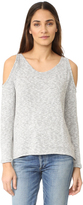 Bobi Cold Shoulder Sweater