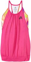 adidas Flow Tank (Kid) - Purple Glow/Raw Purple-Small