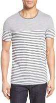 BOSS Men's Tessler Slim Fit Stripe T-Shirt