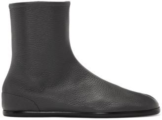 Maison Margiela Grey Flat Tabi Boots