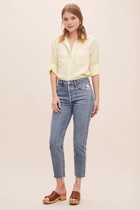 AGOLDE Jamie High-Rise Organic-Cotton Jeans