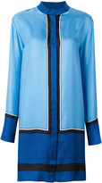 Diane von Furstenberg mandarin neck shirt dress - women - Silk - S