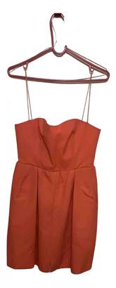 Carven Orange Cotton Dresses