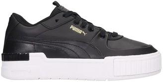 Puma Cali Sport Sneakers In Black Leather