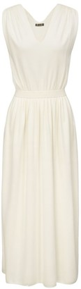 Loro Piana Mayan Sleeveless Silk Sheath Dress