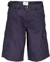 OTB Navy Twill Cargo Shorts & Belt - Men's Regular