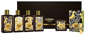 Memo Paris Cuirs Nomades Irish Leather 6-Piece Bath Guest Kit