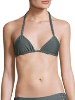Mikoh Indies Macrame Triangle Bikini Top