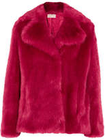 MICHAEL Michael Kors Faux Fur Coat - Bright pink