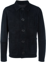 Drome patch pockets jacket - men - Lamb Nubuck Leather - 52