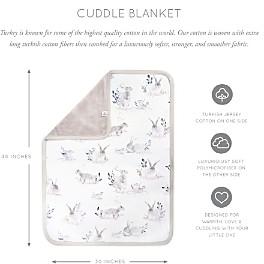 Oilo Studio Cottontail Jersey Cuddle Blanket
