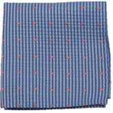 The Tie Bar Light Blue French Kiss Pocket Square