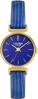 Lola Rose Womens Analogue Classic Quartz Watch with Leather Strap LR2010
