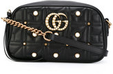 Gucci embellished GG Marmont cross-body bag - women - Calf Leather - One Size