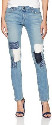James Jeans Women's Neo Beau Slim Fit Boyfriend Jean in Uniquified 26