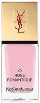 Yves Saint Laurent La Laque Couture in N 25 Rose Romantique