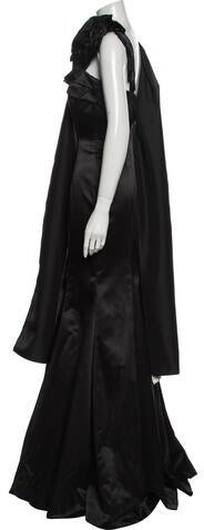 Thumbnail for your product : Jovani Asymmetrical Long Dress Black
