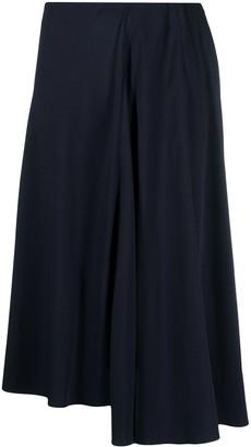 Aspesi Drape-Detail Midi Skirt
