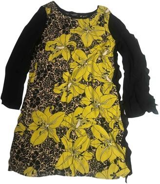 Twin-Set Twin Set Yellow Dress for Women